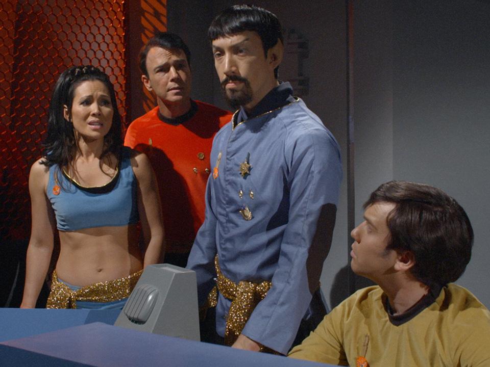 Asia De Marcos, Christopher Doohan, Todd Haberkorn, and Wyatt Lenhart in Star Trek Continues (2013)
