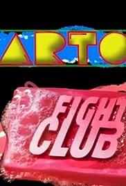 Cartoon Fight Club Poster