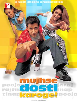 Mujhse Dosti Karoge 2002 Hindi Movie 450MB HDRip ESubs
