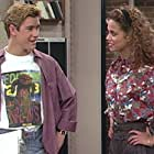 Elizabeth Berkley and Mark-Paul Gosselaar in Saved by the Bell (1989)