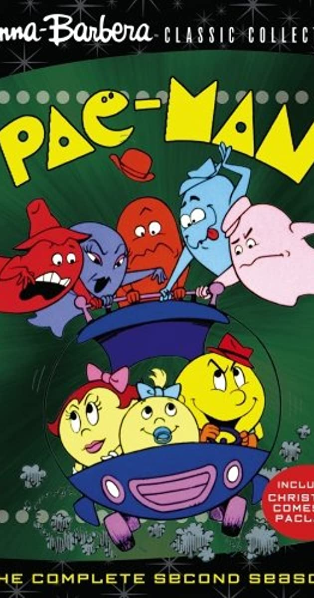 image poster from imdb - Pac-Man (1982) • TVSeries