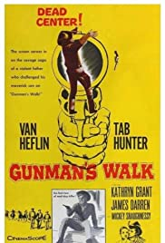 Gunman's Walk (1958) Poster - Movie Forum, Cast, Reviews