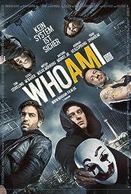 Antoine Monot Jr., Hannah Herzsprung, Wotan Wilke Möhring, Tom Schilling, and Elyas M'Barek in Who Am I - Kein System ist sicher (2014)