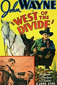 John Wayne and Lloyd Whitlock in West of the Divide (1934)
