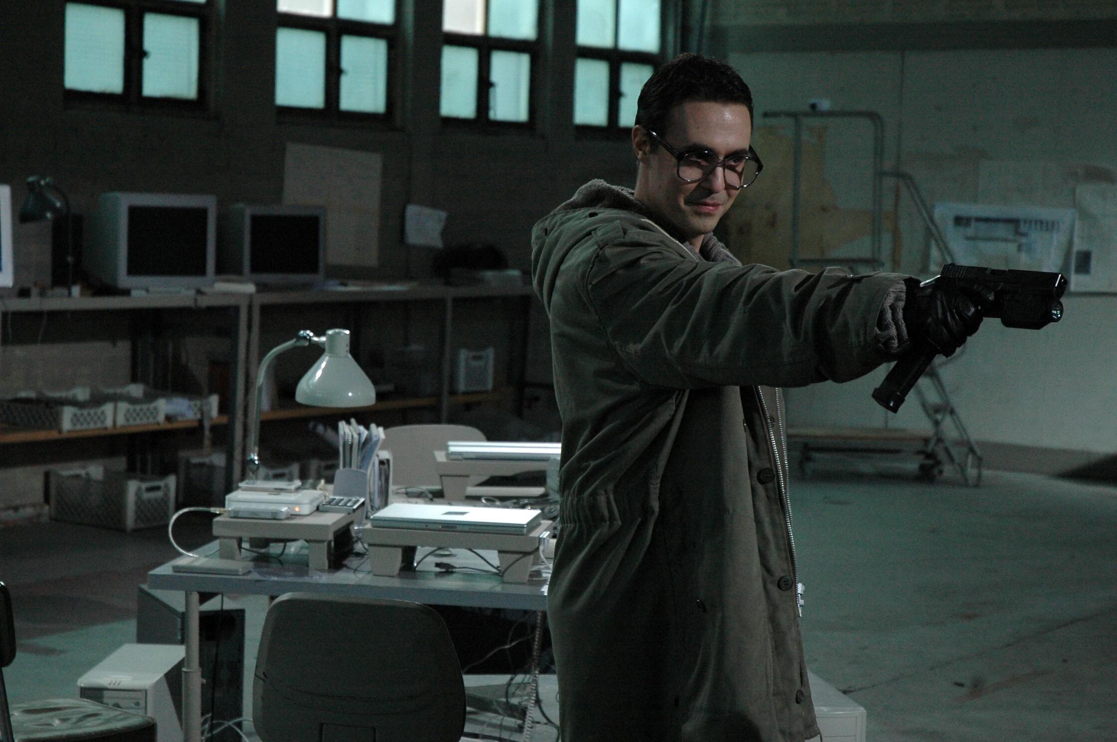 Pierre Delavene in Processus 5 (2009)
