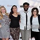 Natasha Lyonne, Malcolm Barrett, and Karey Dornetto in Addicted to Fresno (2015)
