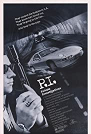 P.I. Private Investigations (1987) Poster - Movie Forum, Cast, Reviews