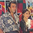 Madhuri Dixit and Sanjay Dutt in Khal Nayak (1993)