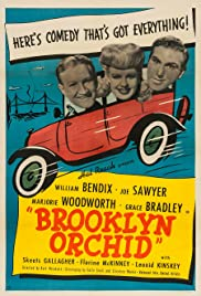 Brooklyn Orchid Poster