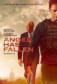 Morgan Freeman and Gerard Butler in Angel Has Fallen (2019)