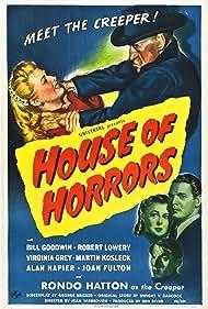 Virginia Grey, Rondo Hatton, Robert Lowery, and Joan Shawlee in House of Horrors (1946)