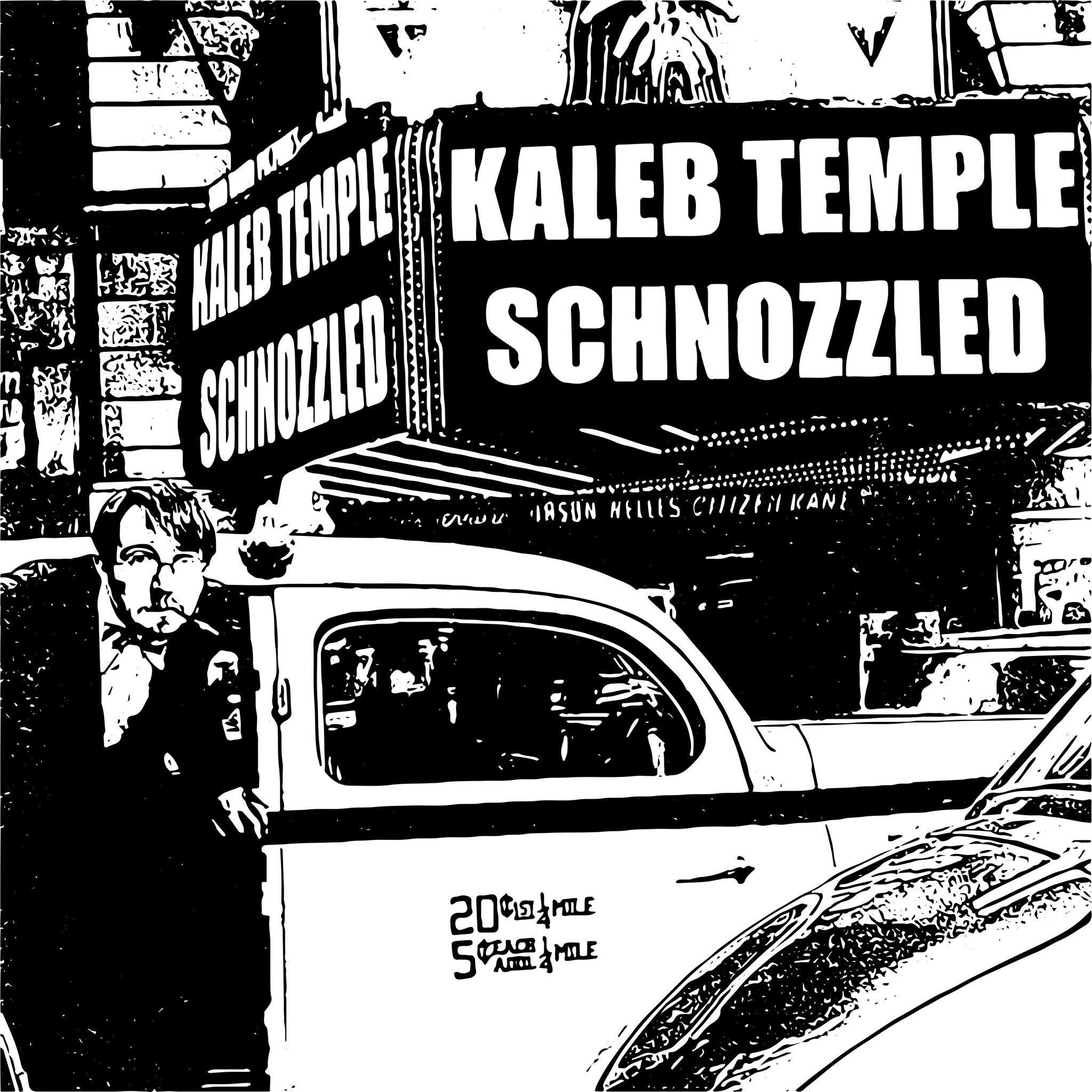 Promo graphic for the California premiere of SCHNOZZLED, September 23rd, 2015