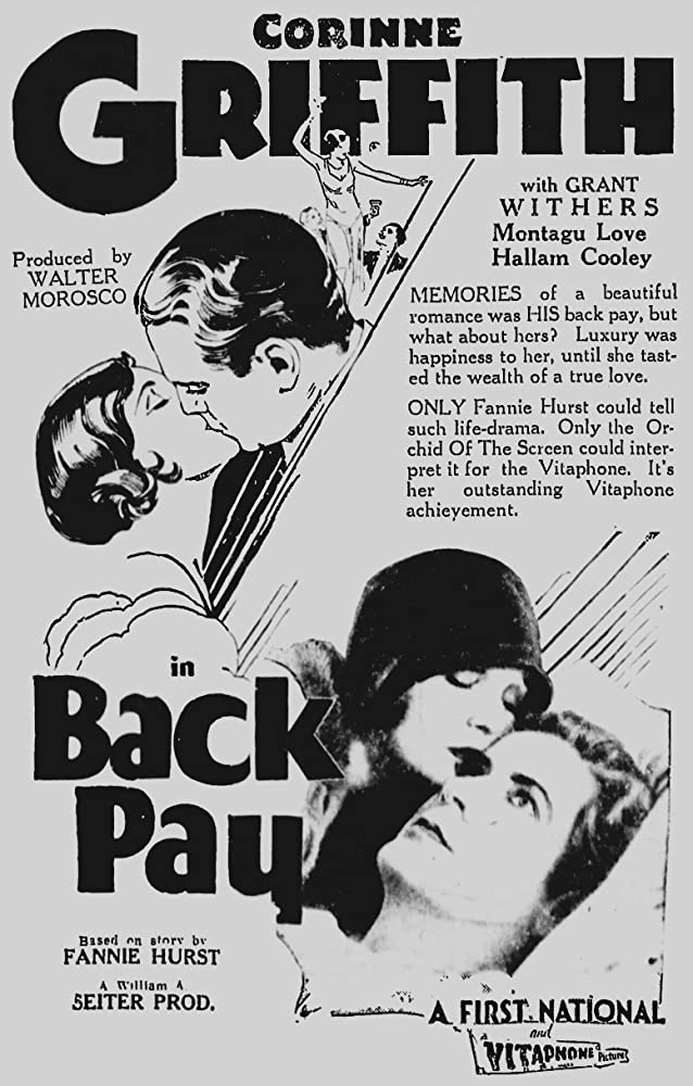 Corinne Griffith and Grant Withers in Back Pay (1930)