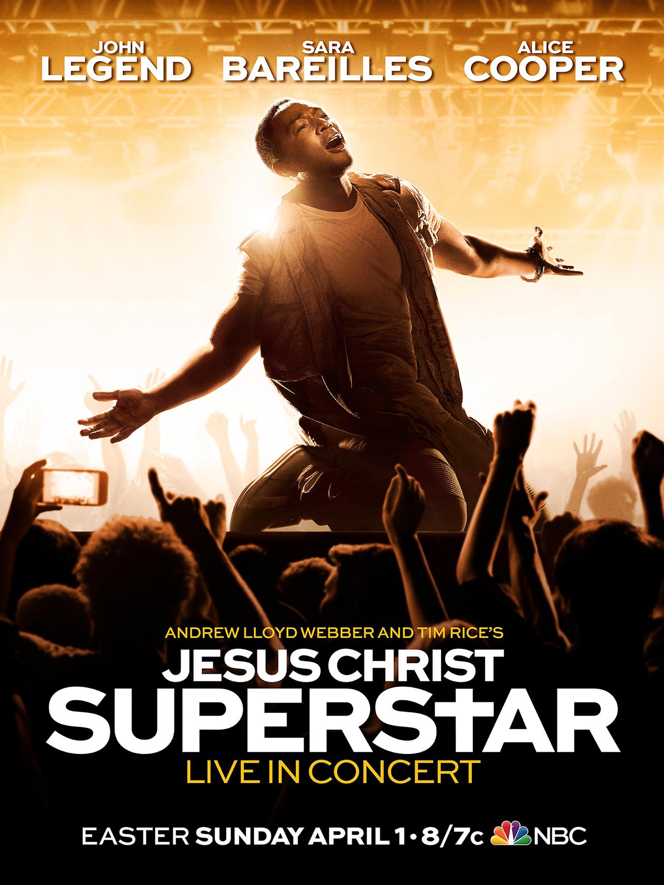 cast of jesus christ superstar live