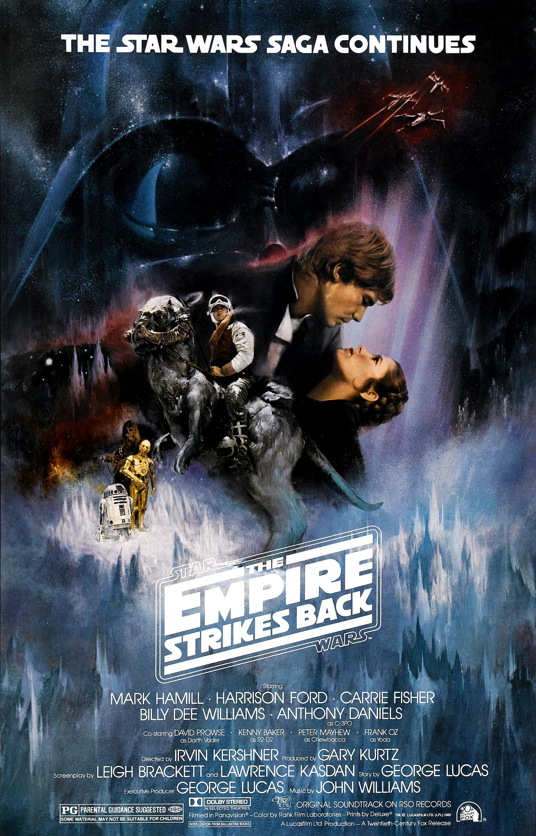 Star Wars: Episode V - The Empire Strikes Back (1980) BluRay 480p, 720p & 1080p