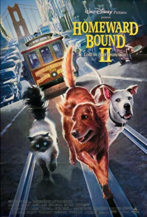 Homeward Bound II: Lost in San Francisco Poster Image