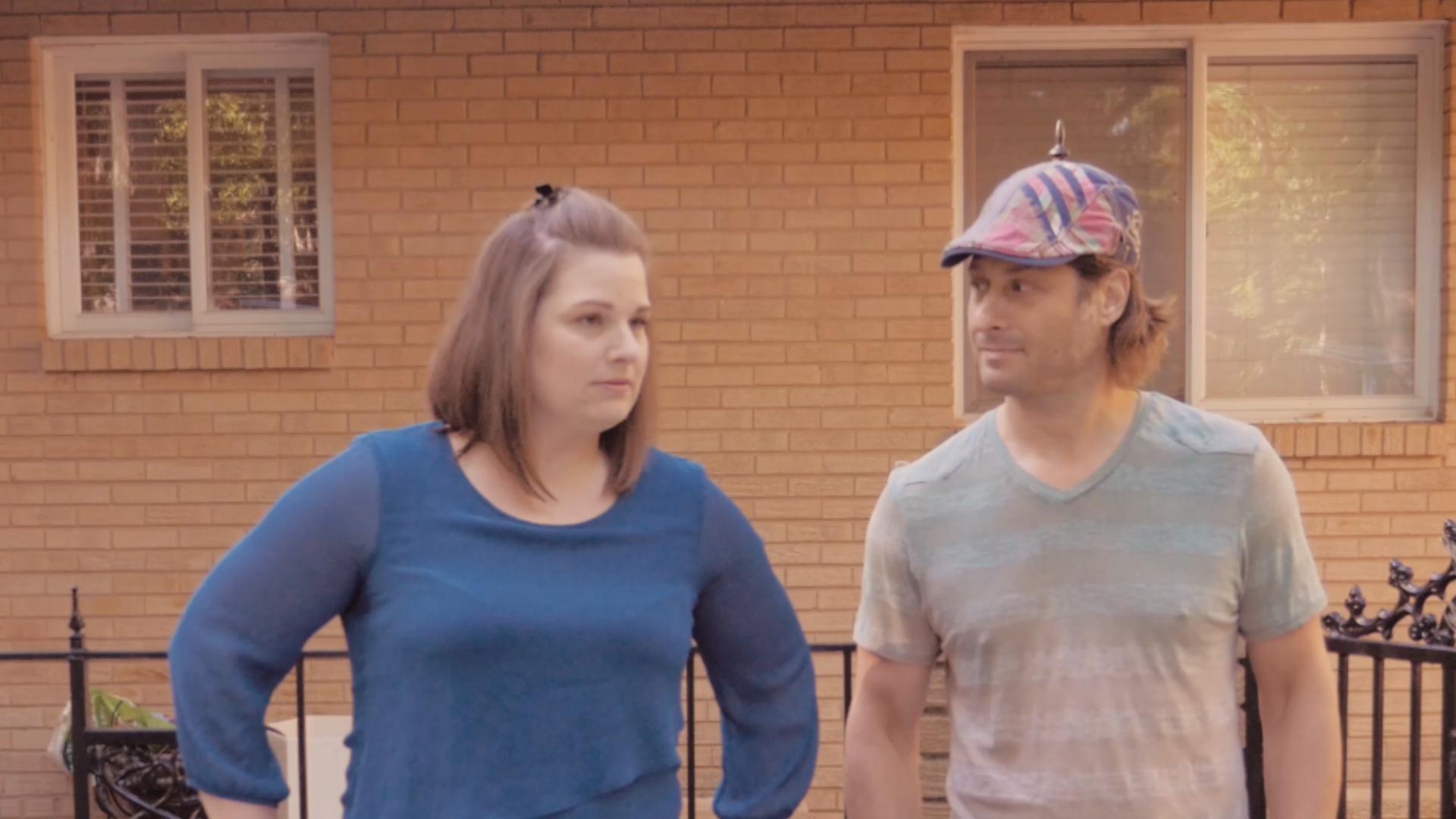 Jason Kierce and Loran Bolding in What Lies Beyond (2016)