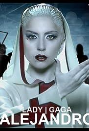 Lady Gaga: Alejandro Poster