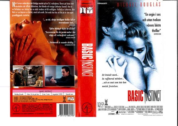 Michael Douglas, Sharon Stone, and George Dzundza in Basic Instinct (1992)