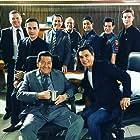 Tirso Cruz III, Jaime Fabregas, Eddie Garcia, Albert Martinez, John Prats, TJ Trinidad, Coco Martin, and Arjo Atayde in Ang probinsyano (2015)