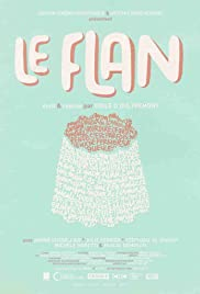 Le flan Poster