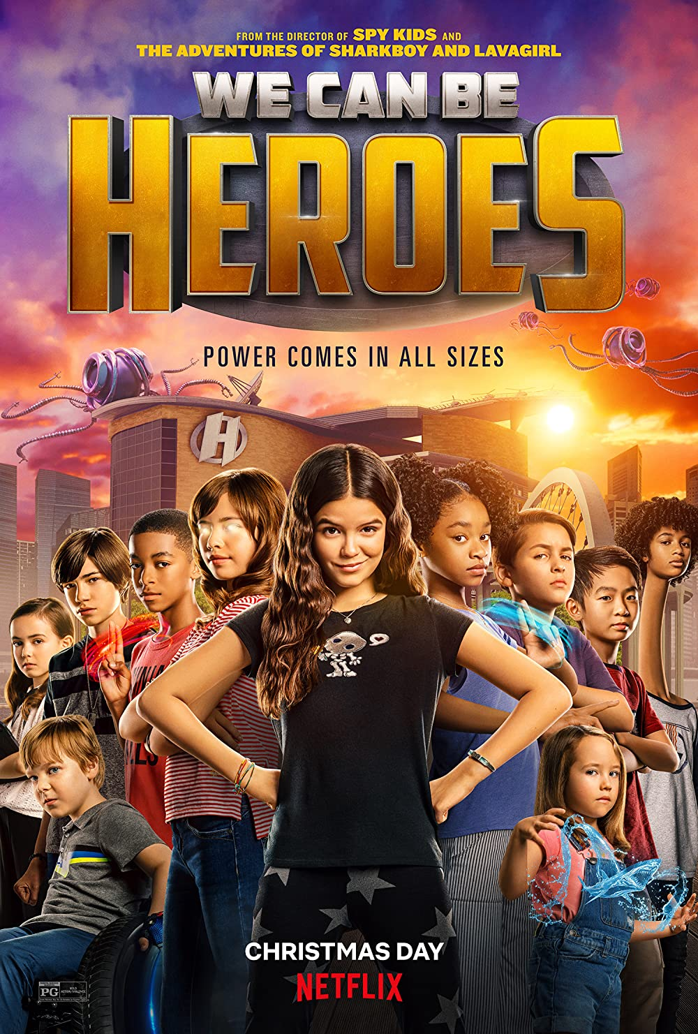 We Can Be Heroes (2020) Hindi ORG Dual Audio 480p NF HDRip ESubs 350MB