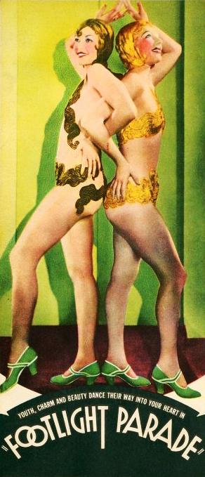 Patricia Farr and Pat Fara in Footlight Parade (1933)