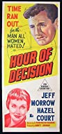 Hour of Decision (1957) Poster