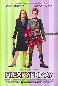 Jamie Lee Curtis, Lindsay Lohan, and Christina Vidal in Freaky Friday (2003)