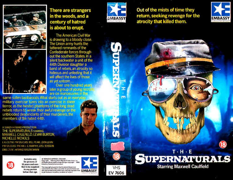 The Supernaturals 1986