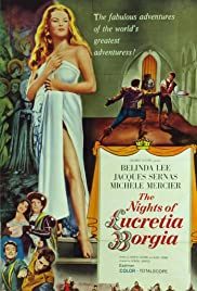 The Nights of Lucretia Borgia Poster