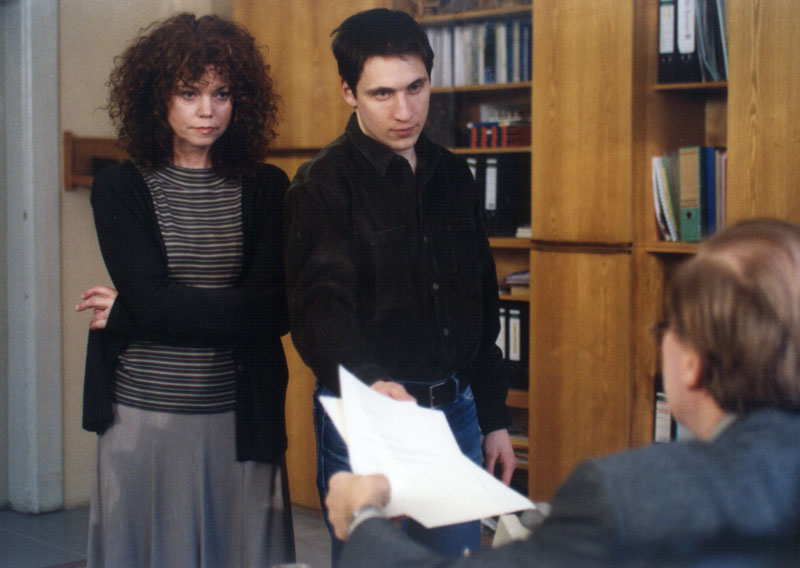 Martin Písarík and Jana Janeková in Stríbrná vune mrazu (2005)