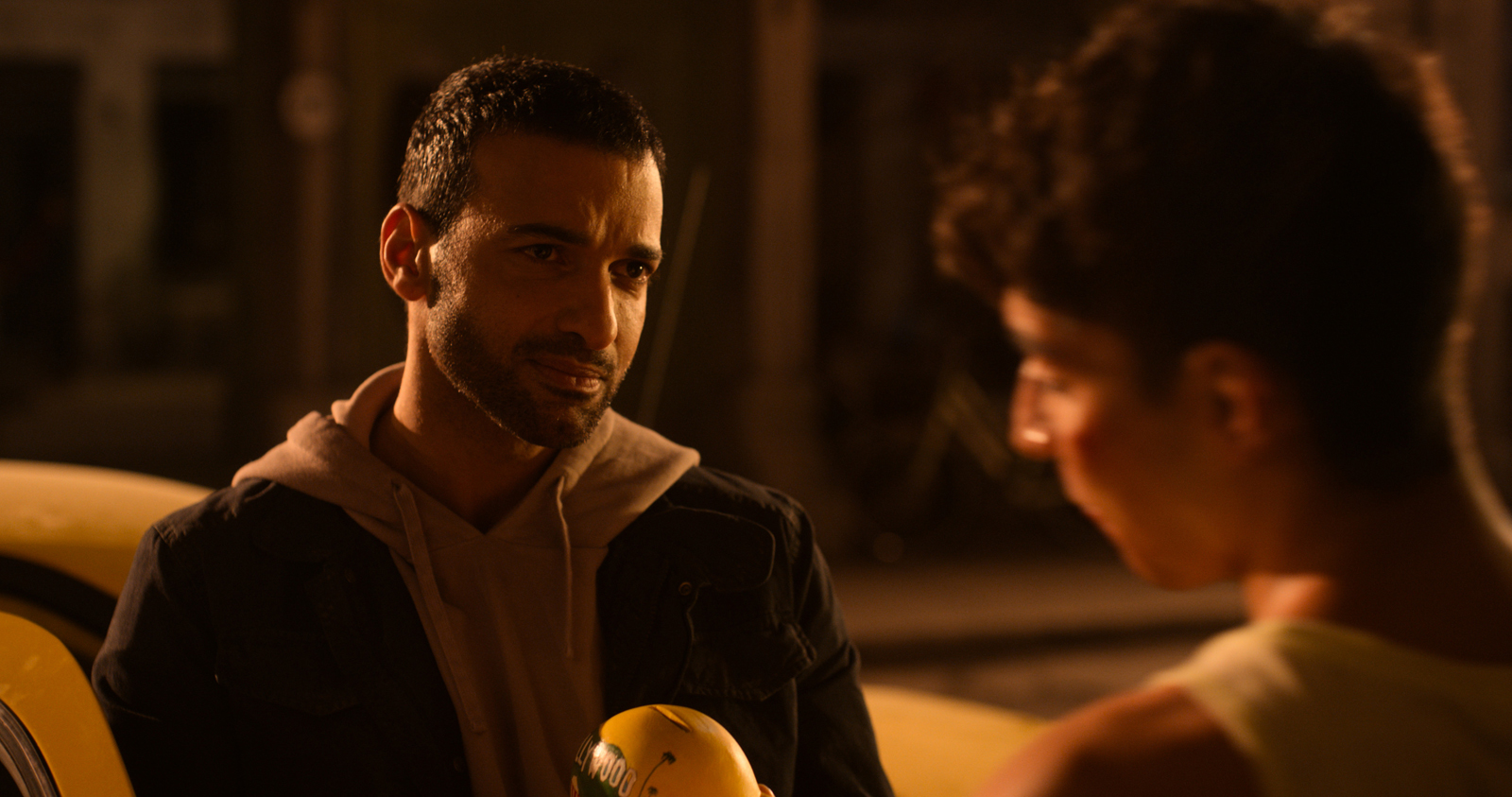 Haaz Sleiman and Adam Ali in The Son (2020)