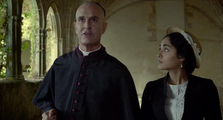 Rupert Everett and Golshifteh Farahani in Altamira (2016)