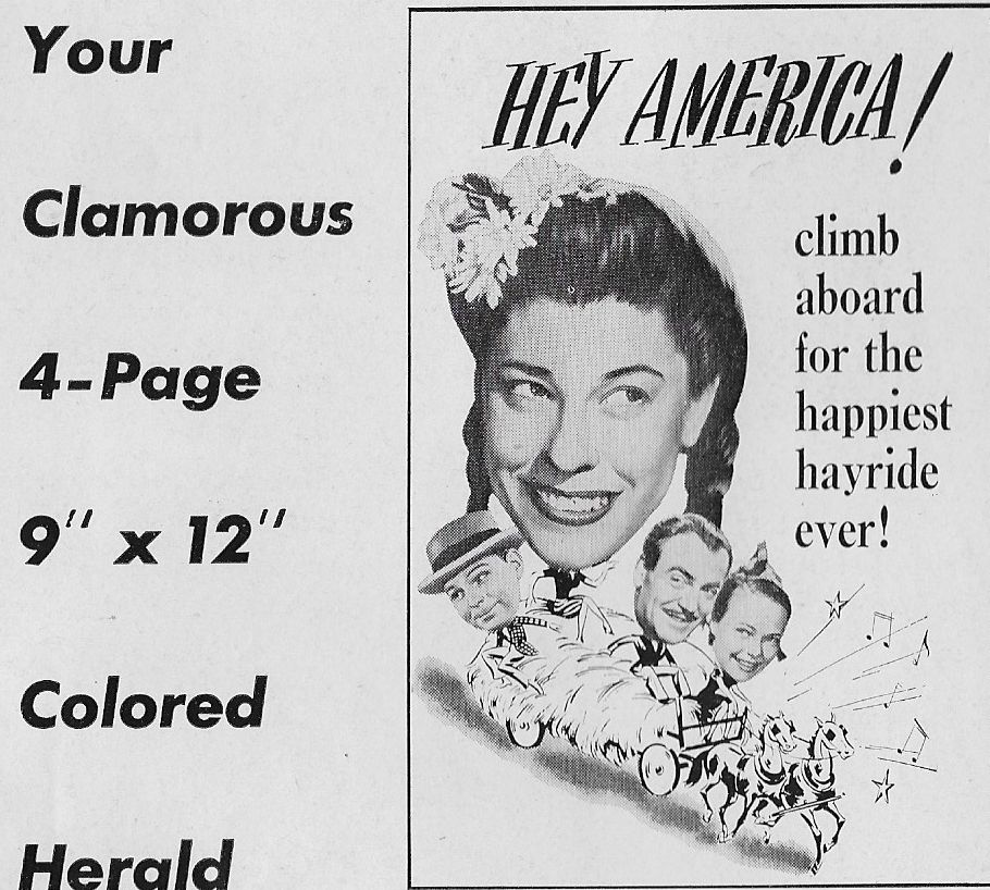 Judy Canova, Richard Lane, Matt Willis, and Betty Jane Graham in Louisiana Hayride (1944)