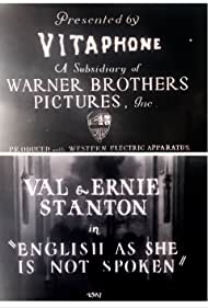 English as She Is Not Spoken (1928)