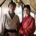 Ronald Cheng and Gillian Chung in Yuet gwong bo hup (2010)
