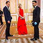 Jonny Lee Miller, Lucy Liu, and Jon Michael Hill in Elementary (2012)