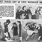 Linda Darnell, Margaret Hamilton, Leslie Brooks, Doris Dudley, and Glenda Farrell in City Without Men (1943)
