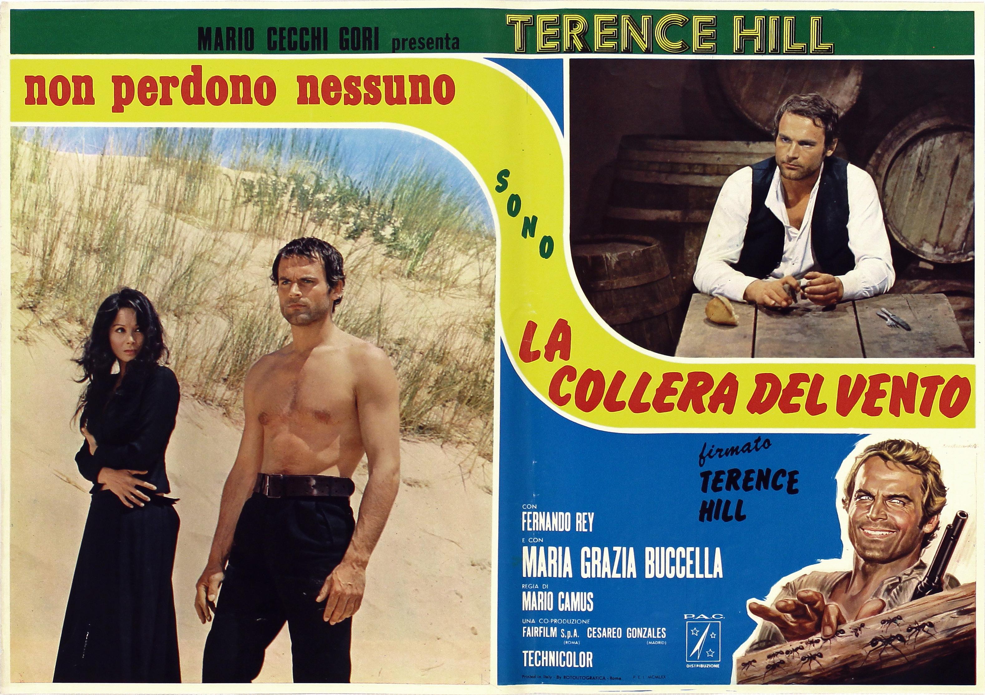 Terence Hill and Maria Grazia Buccella in La collera del vento (1970)