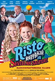 Risto Räppääjä ja Sevillan saituri Poster