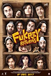 Fukrey Returns Poster