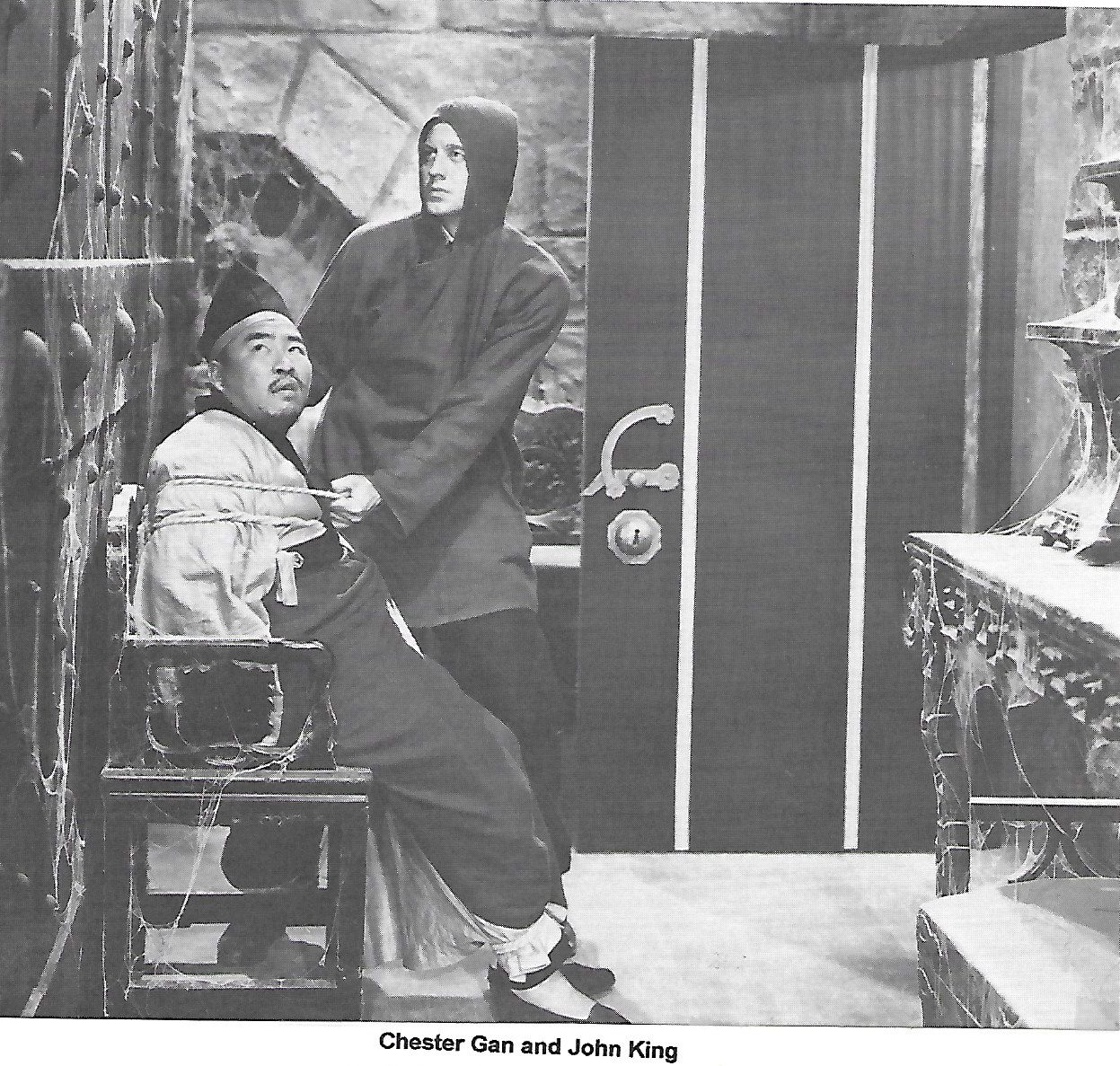 Chester Gan and John 'Dusty' King in Ace Drummond (1936)