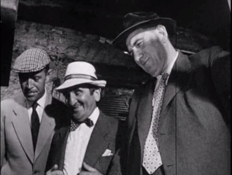 Paul Demange, Jacques Denoël, and Alexandre Rignault in La déesse d'or (1961)
