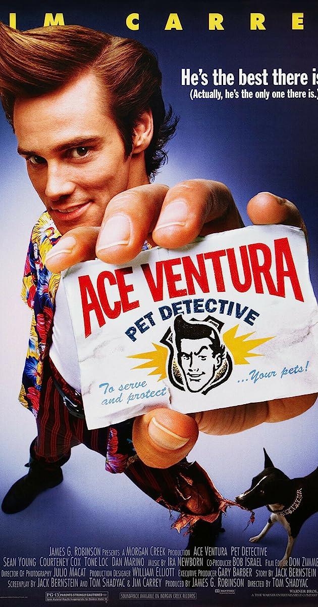 Ace Ventura Pet Detective 1994 Trivia Imdb