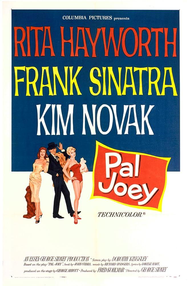Rita Hayworth, Frank Sinatra, and Kim Novak in Pal Joey (1957)