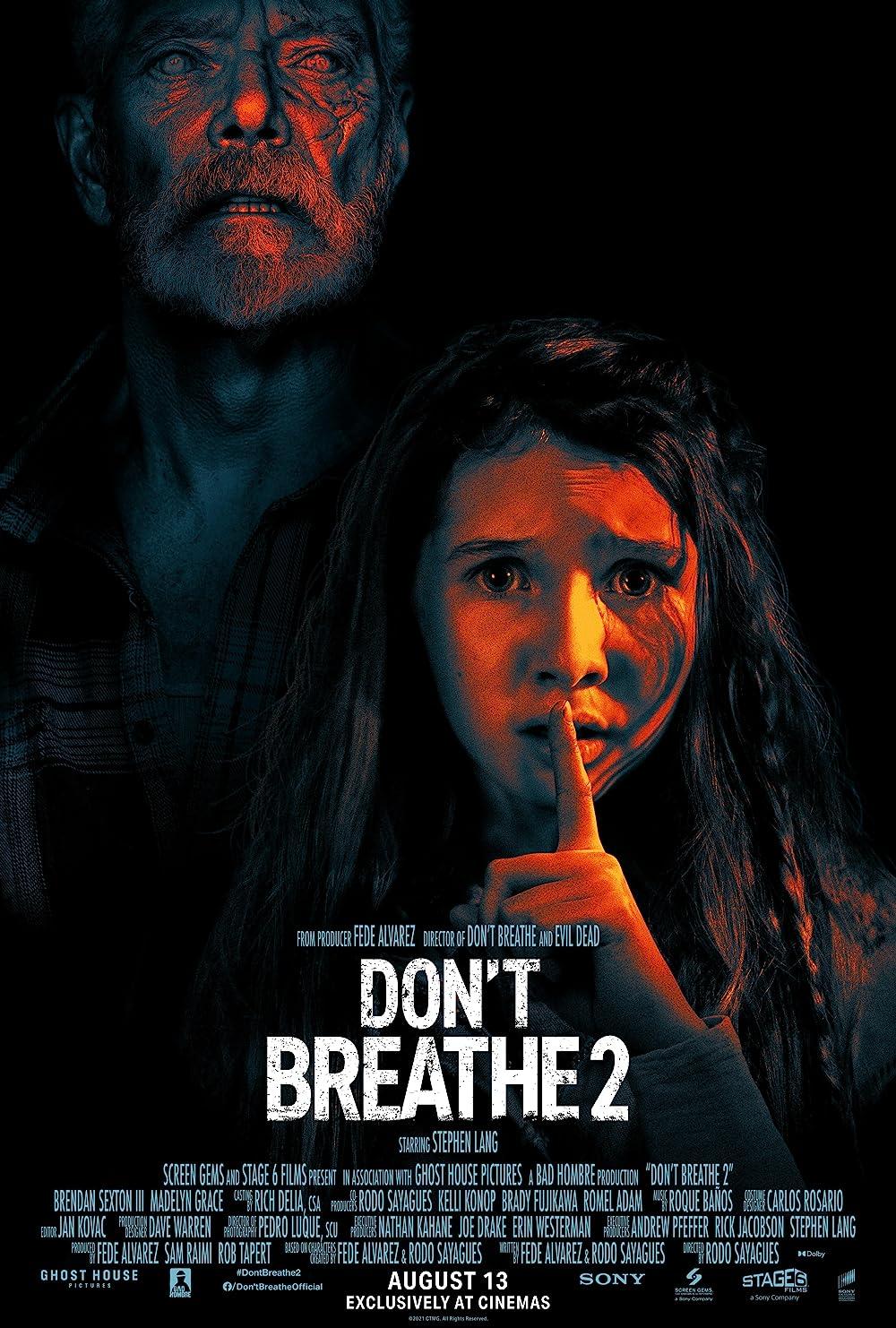Don't Breathe 2 2021 Hindi Dubbed 300MB HDRip 480p Download