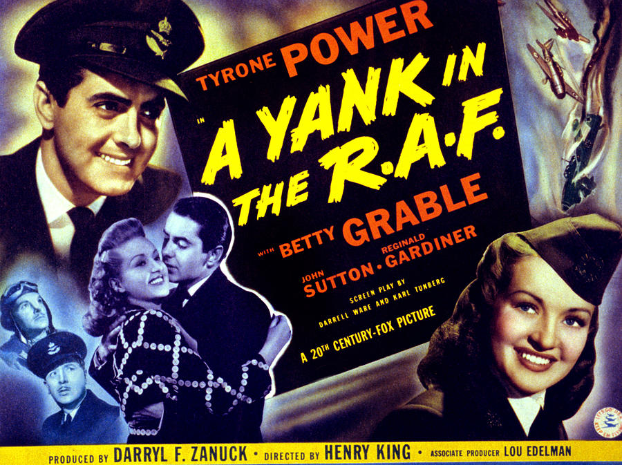 Image result for a yank in the raf