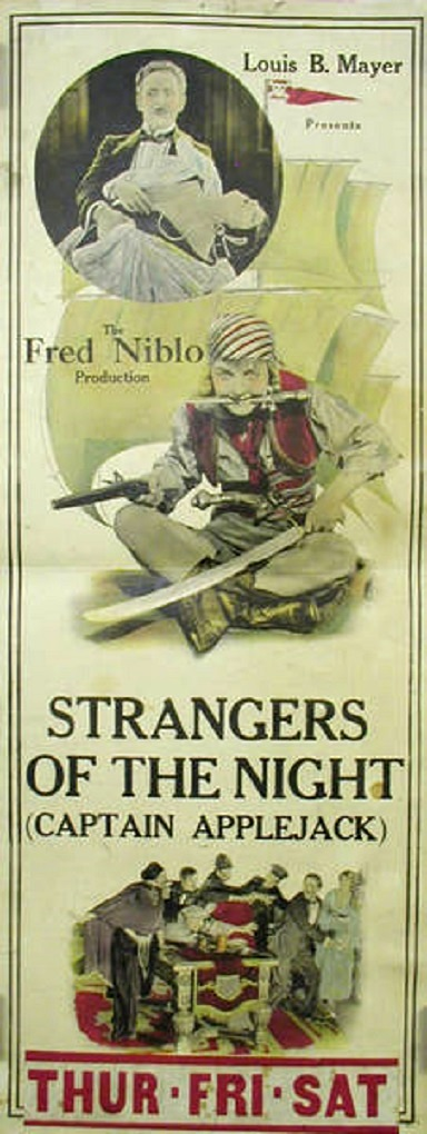 Enid Bennett, Robert McKim, and Matt Moore in Strangers of the Night (1923)