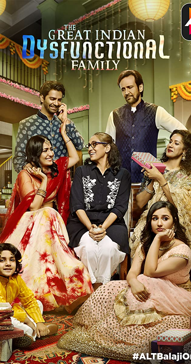 Download The Great Indian Dysfunctional Family or watch streaming online complete episodes of  Season 1 in HD 720p 1080p using torrent